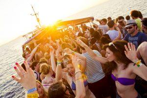 Fiestas en barco: