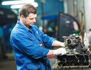 reparación de motores - gato hidraulico